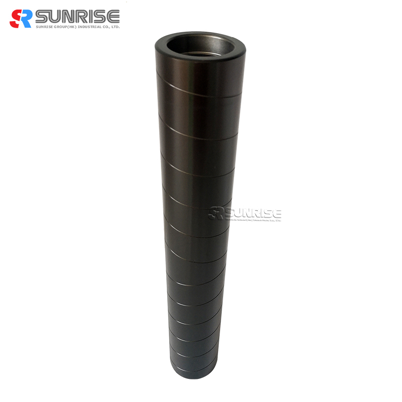Custom Hard Anodized Conveyor Aluminium Guide Roller for Finishing Machinery